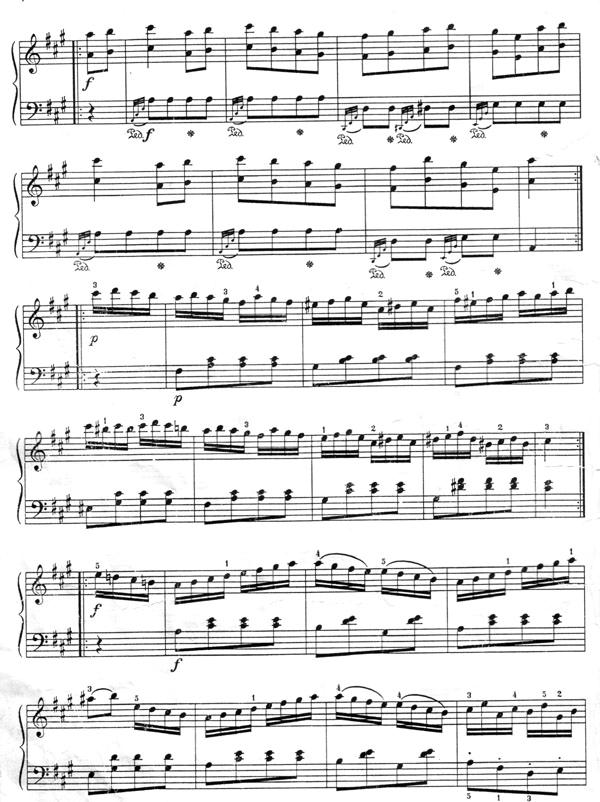 В А Моцарт Турецкий Марш